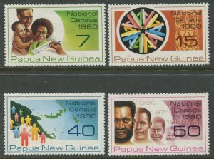 STAMP STATION PERTH Papua New Guinea #517-520 Pictorial Definit MNH 1980 CV$2.00