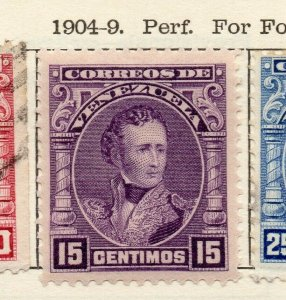 Venezuela 1904-09 Early Issue Fine Mint Hinged 15c. NW-114540