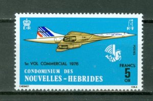 NEW HEBRIDES FRENCH...CONCORDE #223...MNH...$13.50