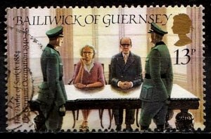 Guernsey 1984 SG. 288 used (10822)