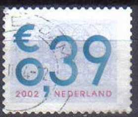 NETHERLANDS,  2002 used 0.39, Business Coil Stamp. DIFFERENT CANCELS EACH
