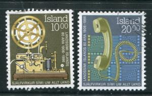 Iceland #632-3 Used