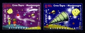 Montenegro Sc# 220-1 MNH Europa 2009