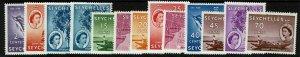 Seychelles SC# 173-185, Mint Never Hinged, 180 dry gum spot - S11668