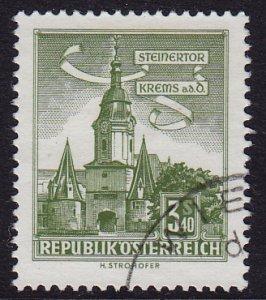 Austria - 1960 - Scott #626 - used - Krems