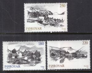Faroe Islands 83-85 MNH VF