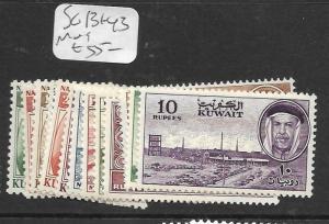 KUWAIT  (PP0705B)  SG 131-143  MOG