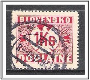 Slovakia #J8 Postage Due Used