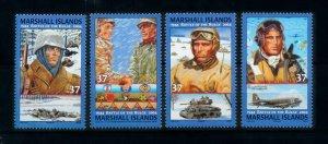 [101658] Marshall Islands 2004 World War II Ardennes offensive  MNH