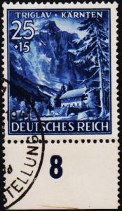 Germany. 1941 25pf+15pf  S.G.795 Fine Used