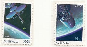 Australia 1986  set  MNH  974-975