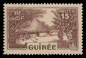 French Guinea 133 Mint (NH)