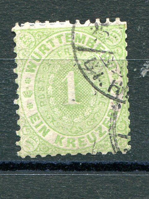 Wuerttemberg #53  Used F-VF