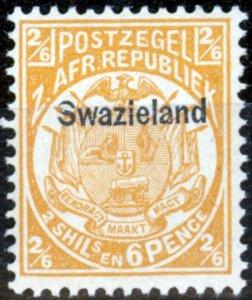 Swaziland 1890 2s6d Buff SG7 V.F MNH