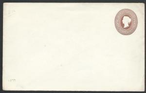 MAURITIUS 1879 QV 50c envelope - fine unused...............................56527