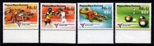 Papua New Guinea 1982 C'wealth Games & Anpex 82 Exhib., Marginal Set [Unused]