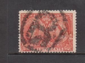 Canada #59 Used With Ideal Registered Cancel