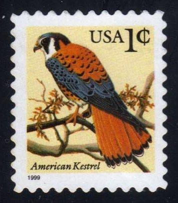 US #3031 American Kestrel, used (0.25)