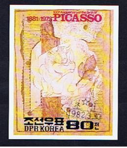 PICASSO MINOTAUR IMPERF M/SHEET
