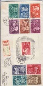 1948, Budapest, Hungary to New York, NY, FDC, See Remark (24275)