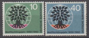 Germany #807-8 F-VF Unused (ST1656)