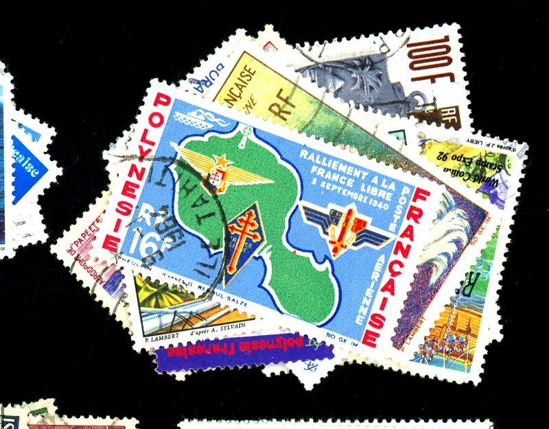 French Polynesia #544,592,615,637,682 C28,C30-32 Used FVF Cat$27
