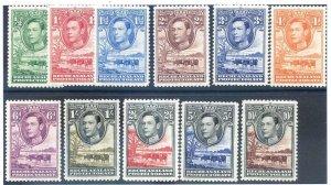 Bechuanaland SG118/128 Mounted Mint