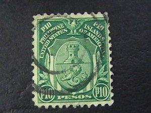 PHILIPPINES # 304-USED---SINGLE---1926