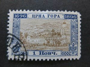 A5P23F26 Montenegro 1896 1n used