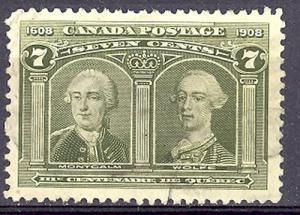 Canada #100 Used VF