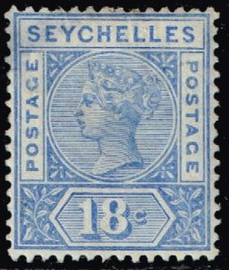 UK STAMP Seychelles MH/OG STAMP Queen Victoria 18C
