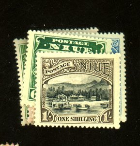 Nive #35-40 MINT F-VF OG LH Cat $ 16.50