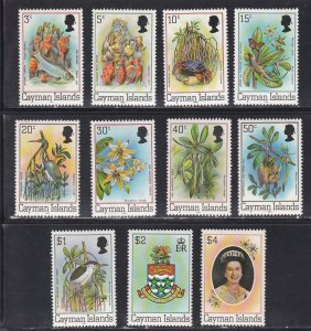 Cayman Islands # 452-462, Pictorial Definitives, NH, 1/2 Cat.