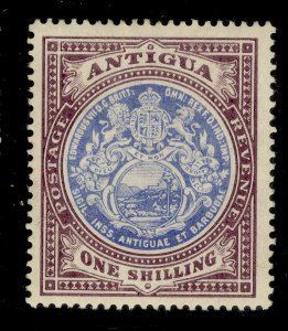 ANTIGUA GV SG49, 1s blue and dull purple, M MINT. Cat £27.