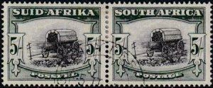 South Africa 1954 SC 66 Used