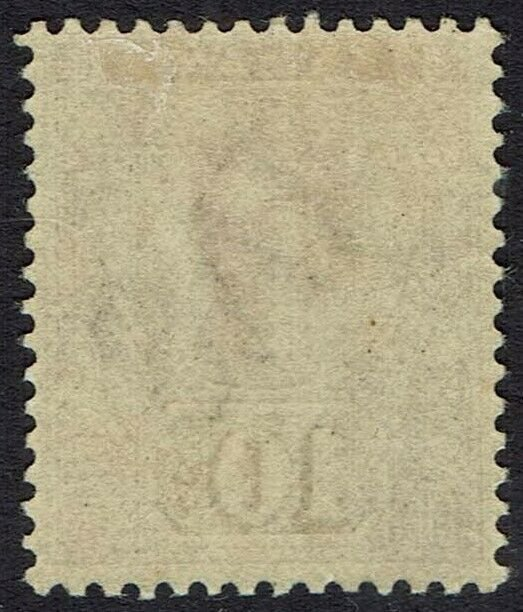 TASMANIA 1892 QV TABLET 10/- WMK TAS