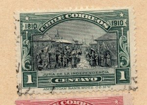Chile 1894-95 Early Issue Fine Used 1c. NW-09267