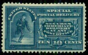 US #E5, 10¢ Spec. Delivery, og, hinge rem, VF, Scott $210.00
