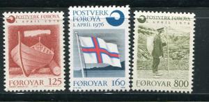 Faroe Islands #21-3 MNH (Box1)