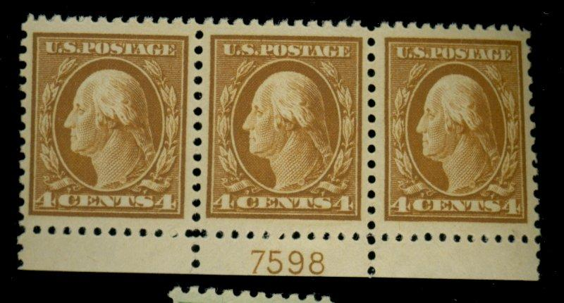 503 MINT Plate Strip VF OG NH Cat$60
