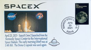 AFDCS SpaceX Crew #2 Launched from Kennedy Space Center FL 0549 4-23-21