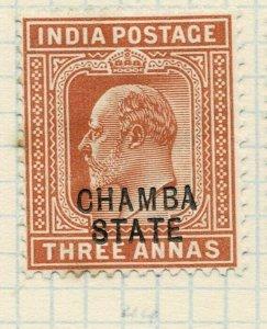 india chamba states- sg 48 -  lmm