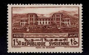 Syria Scott 277 MH* stamp hinge remnant