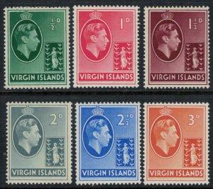 Virgin Islands #76-81*  CV $8.40