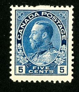 Canada Stamps # 111 VF OG H Scott Value $175.00