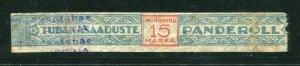 x242 - ESTONIA Tobacco REVENUE Stamp / Label / Tape. Excise Tax. Fiscal