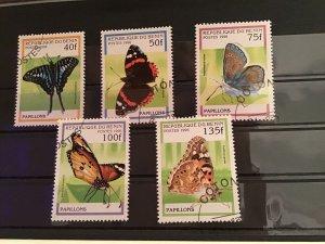 Rep du Benin Butterflies stamps R21936