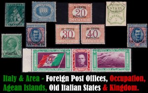 Italian Colonies and Post Offices