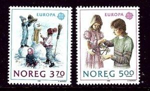 Norway 942-43 MNH 1989 Europa    (ap4006)