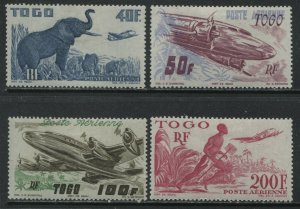 Togo 1947 Airmail set mint o.g. hinged